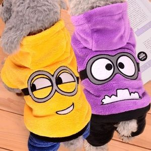 Other - Pet- Adorable Hooded One Piece Suit